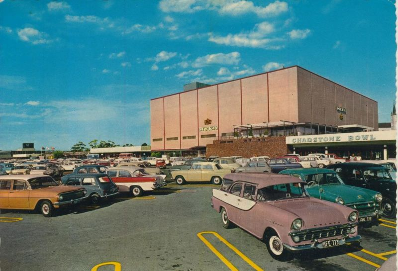 Melbourne v. 1969  Chadstone Shopping & Bowl  (55411)