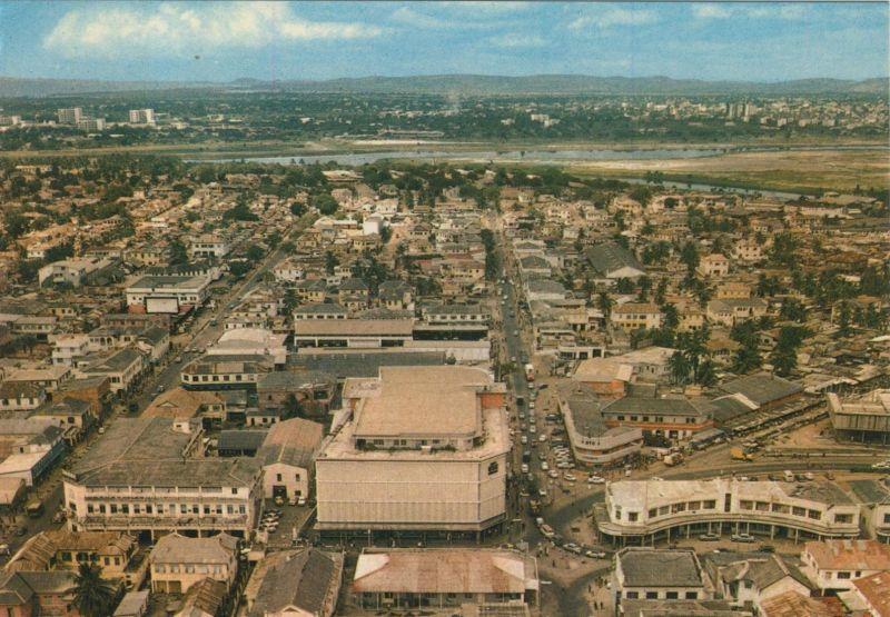 Accra / Ghana v. 1969  Stadt-Ansicht  (55437)