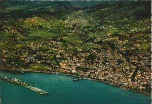 Madeira v. 1968  Vista aerea do Funchal  (55452)