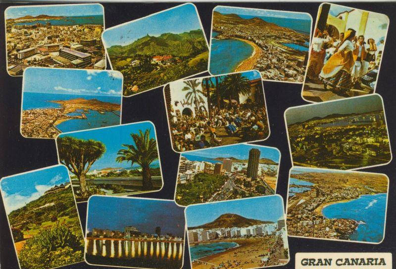 Gran Canaria v. 1986  13 Ansichten  (55460)