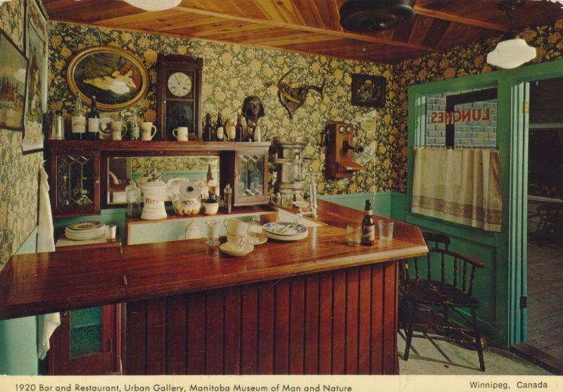 Winnipeg / Canada v. 1972  Bar und Restaurant von 1920  (55466)