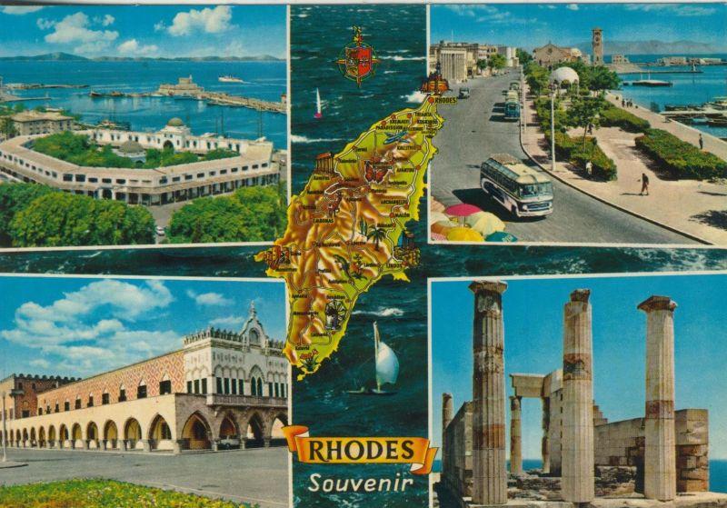 Rhodes v. 1974  5 Ansichten  (55470)