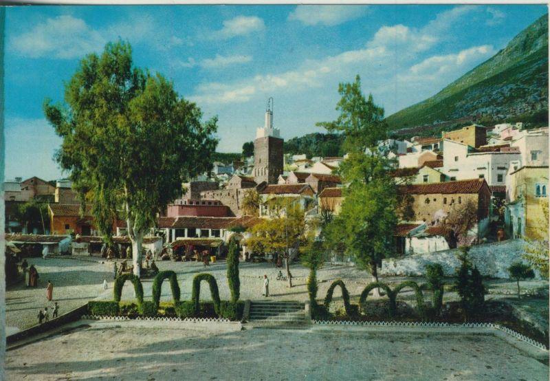 Maroc v. 1974  Place du Majzen  (55472)