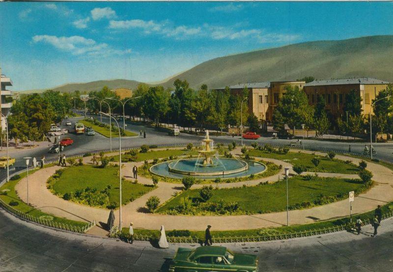 Tehran v. 1968  Rathausplatz  (55476)