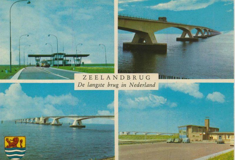 Zeeladbrug v. 1974  De langste brug in Nederland  (55491)