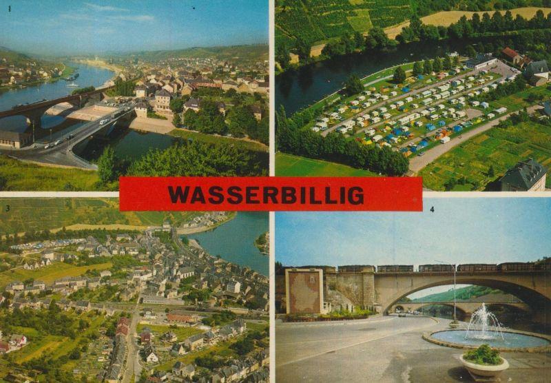 Wasserbillig v. 1974  4 Ansichten  (55496)