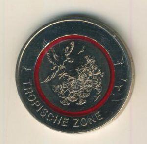 5 Euro Münze 2017 Tropische Zone  (55840-3)