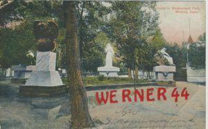 Wichita v. 1908 Statuary in Wonderland Park  --  siehe Foto !!   (36438)