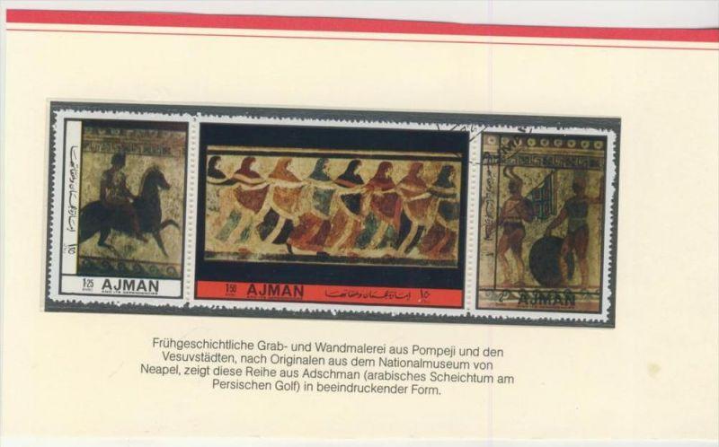 Adschman v. 1976   Frühgeschichtliche  Grab und Wandmalerei --  siehe Foto !!   (003)