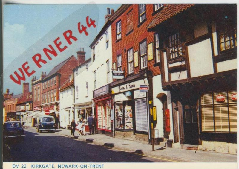 Kirkgate v. 1978  Newark on Trent ---  siehe Foto !!   (28174)