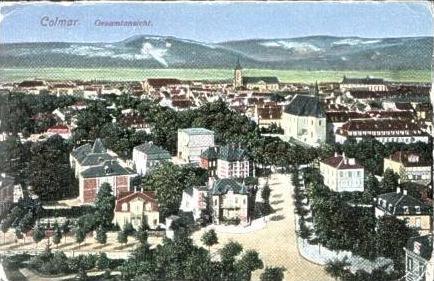 Calmar v.1917 Stadtansicht (16515)