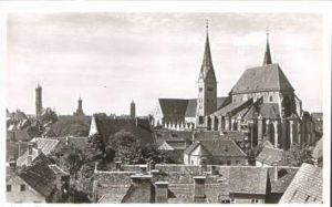 Augsburg v.1954 Teil-Stadt-Ansicht (16752)
