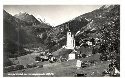 Heiligenblut v.1934 Dorf & Kirche (16828)