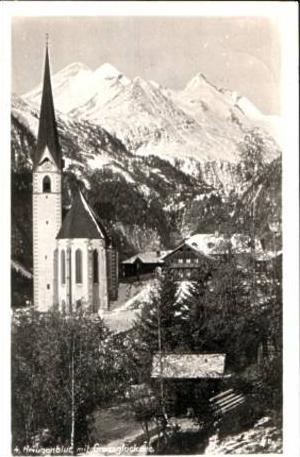 Heiligenblut v.1934 KIRCHE & Dorf (16831)