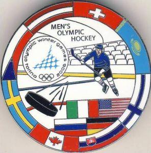 Eishockey --- Mens Olympic Hockey in Torino 2006 - siehe Foto & beschr. !!