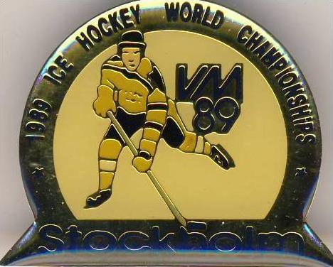 Eishockey --- ICE Hockey World Championships 1989 - siehe Foto & beschr. !!