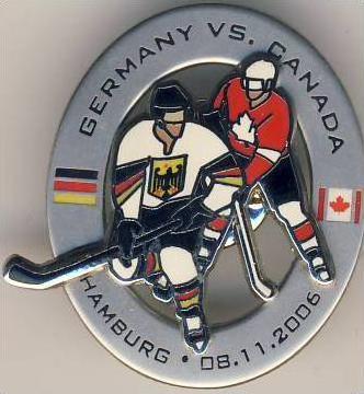 Eishockey - Germany & Canada - Hamburg 8.11.2006  - siehe Foto & beschr. !!