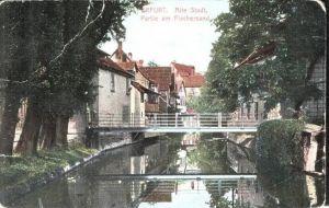 Erfurt v.1911 Partie am Fischersand (16932)
