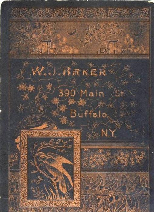 W.J. Baker,390 Main St.,Buffalo,N.Y.  (21)