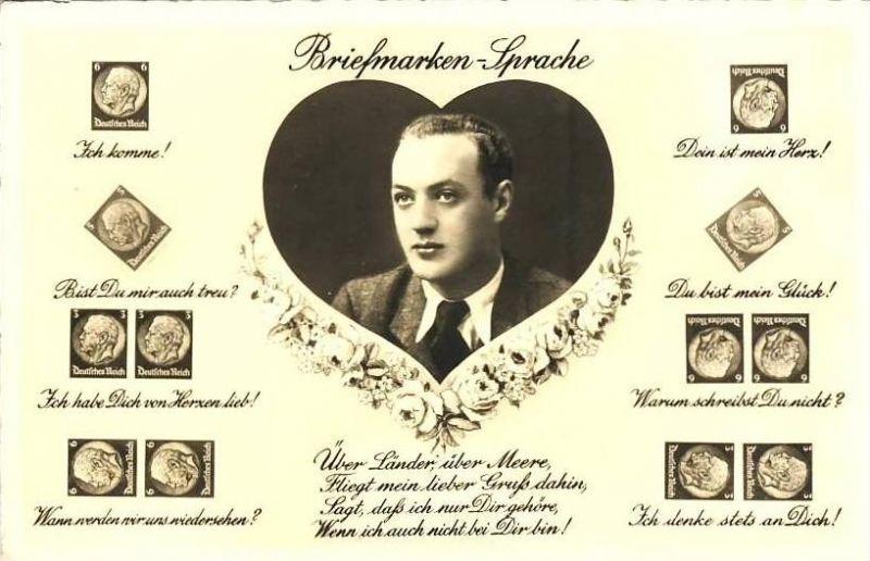 Briefmarken - Sprache v. 1943  - siehe Foto !!  (35490)