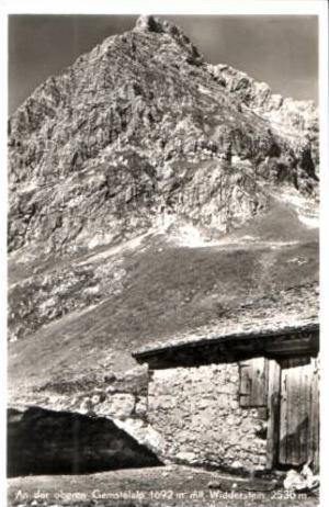 Widderstein v.1952,,Gemstelalp (16815)