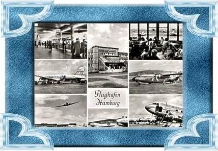 Hamburg v.1959 8 Ans.Flughafen (9488)