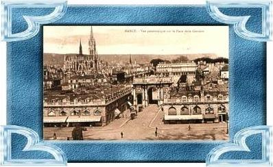 Nancy v.1918 Place Carriere .(9490)