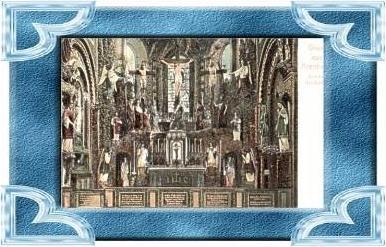 Arenberg v.1908 Kirche,-- Hochaltar (9502)