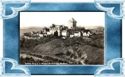Burg a. d. Wupper v.1936 Schloß (9515)