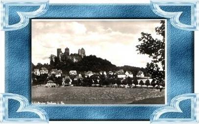 Stolpen v.1935 Ruine & Teil-Stadt (9519)