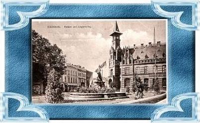 Rensburg v.1916 Postamt & Jungfernstieg .(9524)