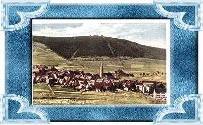 Oberwiesenthal.v.1934.Höc   hstgelegene  Stadt (9528)