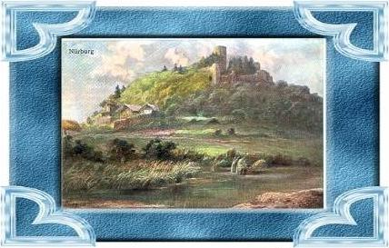 Nürburg v.1934 Burg & Häuser (9533)