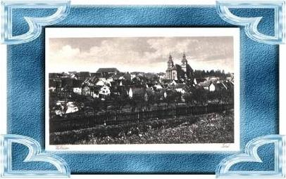 Walldürn v.1934 Dorfansicht (9545)
