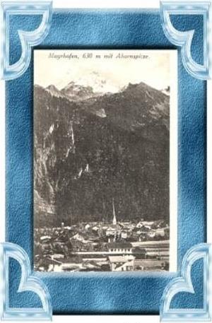 Mayrhofen v.1925 Stadtansicht (9552)