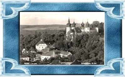 Artstetten v.1941.Stadt & Schloss.(9653)