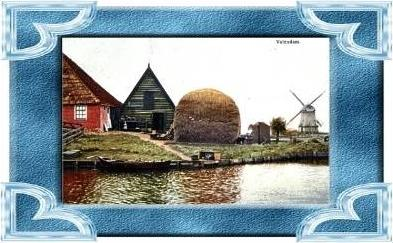 Volendam v.1917 Bauernhof (10164)
