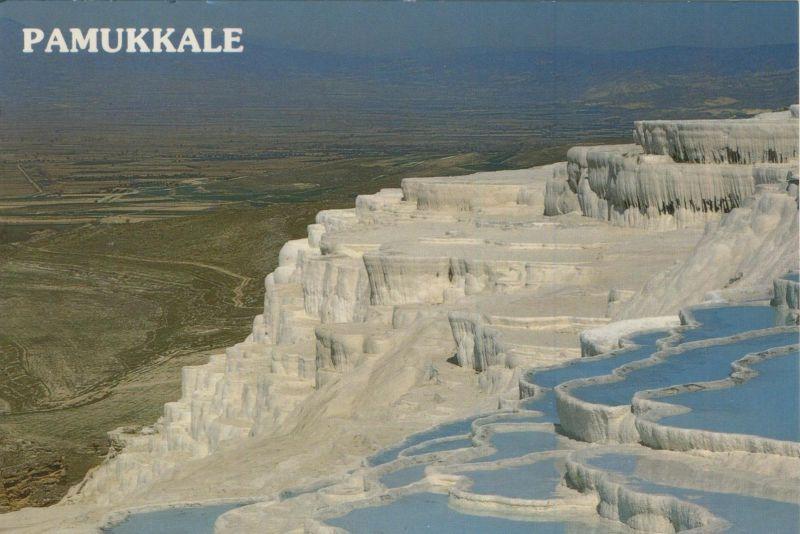 Pamukkale v. 1986  Mineralhaltige Thermalwasser Becken (55080)