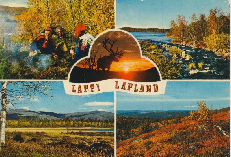 Lappi / Lapland v. 1978  5 Ansichten  (55089)