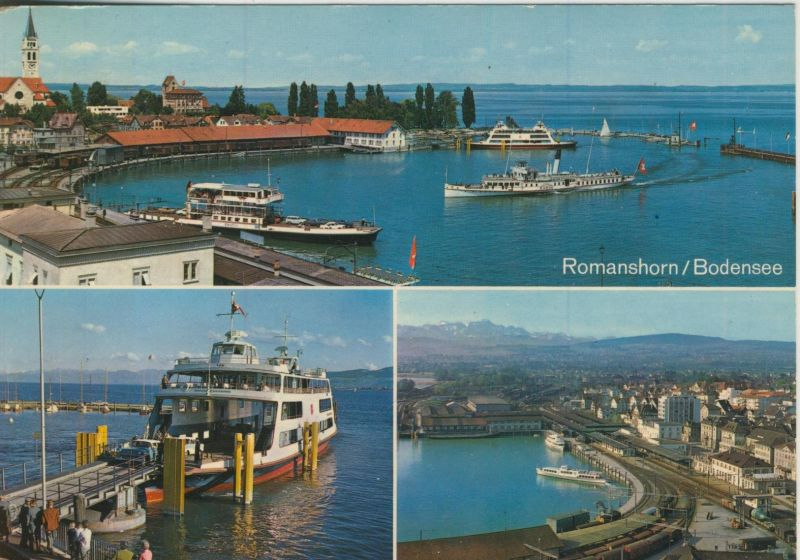 Romanshorn / Bodensee v. 1968 3 Ansichten  (56001)