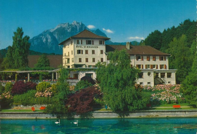 St. Nikolausen v. 1976  Hotel St. Nikolausen am See  (56003)