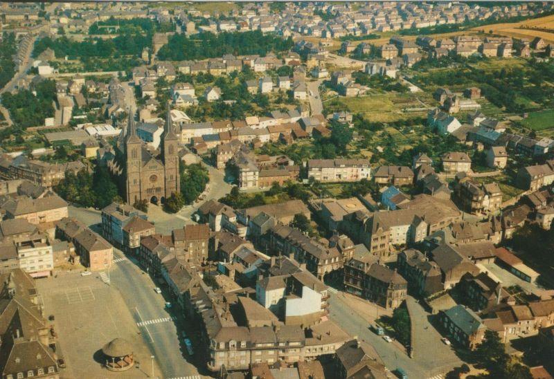 Dudelange v. 1979  Teil-Stadt-Ansicht  (56014)