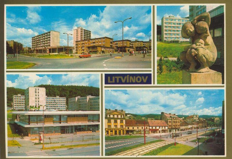 Litvinov v. 1976  4 Stadt-Ansichten  (56030)