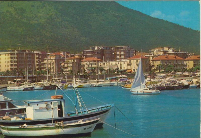 Andora v. 1976  Teil-Stadt-Ansicht mit Hafen  (56038)