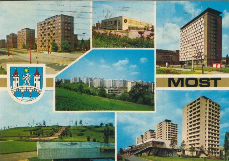 Most v. 1981  6 Stadt-Ansichten (56043)