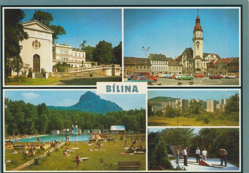 Bilina v. 1976  5 Ansichten  (56048)