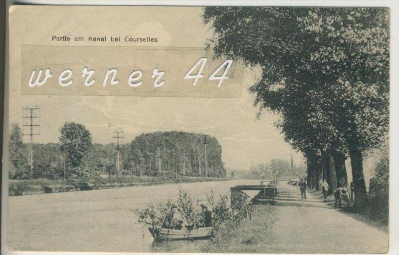 Courselles v.1917 Partie am Kanal (3922)