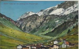 Stuben v. 1908 Dorfansicht  (50999-9)
