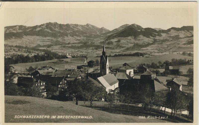 Schwarzenberg v. 1968  Dorfansicht  (53615)
