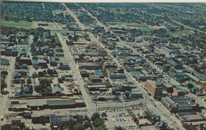 Oshawa v. 1959  Aerial - Looking West  (53899-9)